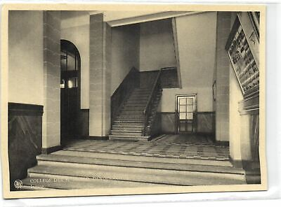 1 Postcard East flanders Dendermonde College Der H. Maagd - Ingang pcbelgf177
