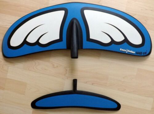 2019 BLUE PLANET EASY FOILER front & rear foil wings for surf / SUP - size M
