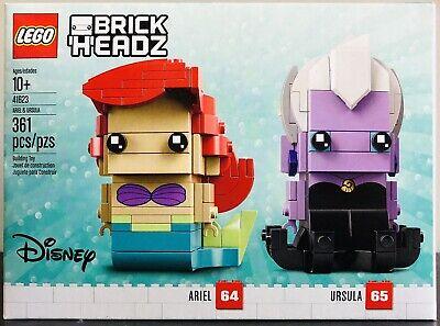 Lego Brickheadz 41623 Ariel Ursula Disney The Little Mermaid New!