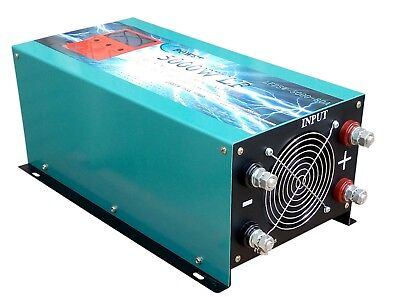 5000w LF pure sine wave power inverter dc12v to ac110v / battery charger / LCD