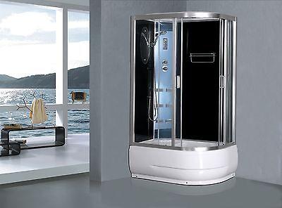 Cabine de douche complète Sanifun Clarabello 120 x 80.