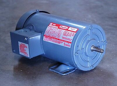 Dayton 3n844 13 Hp 1725 Rpm 220 440 Vac 3 Phase Tefc Electric Motor - New