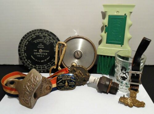 Vintage Junk Drawer Collectible Lot - 10 Pieces - All Great Stuff! - LQQK