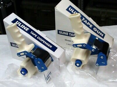 Heavy-duty Packaging Tape Dispenser Guns Pair 2 And 3 Lot Of 2