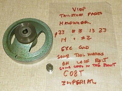Emco Maximat V10 Series Lathe Tailstock Parts Imperial Handwheel C08t
