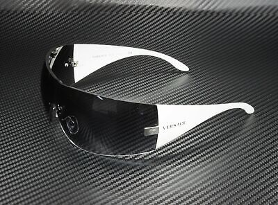 VERSACE VE2054 10008G Silver Gray Gradient 41 mm Women's Sunglasses
