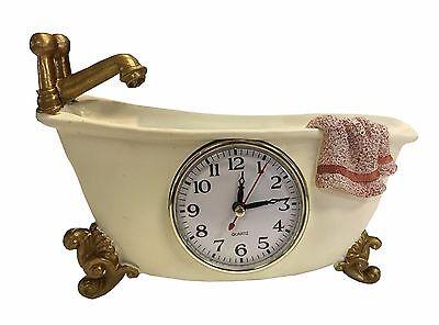 Wanduhr Badewanne Badezimmeruhr Uhr Dekouhr Bad Wanne Quarzuhr