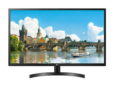 "NEW LG 32"" Full HD IPS HD Monitor AMD FreeSync Flicker Safe Crosshair HDMI VGA"
