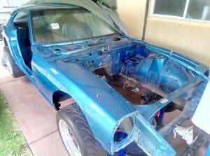 1971 240Z Rolling Shell