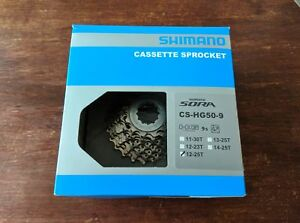 Shimano 9 & 10 speed cassettes sprockets