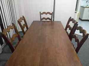 6 Seater Dinning table with 6 chairs Westmead Parramatta Area Preview