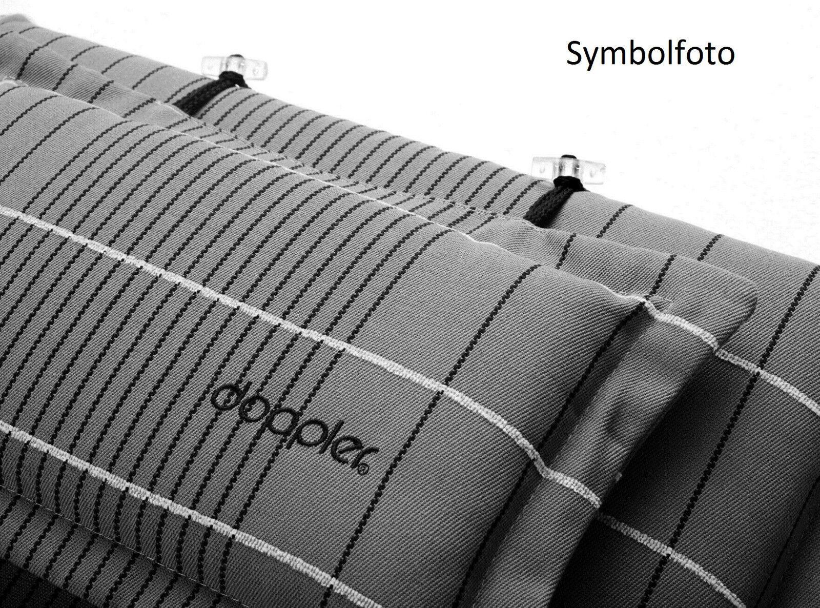 doppler hochlehner auflagen mit kopfkissen 5106 polster gartenstuhl 8 cm schwarz chf. Black Bedroom Furniture Sets. Home Design Ideas