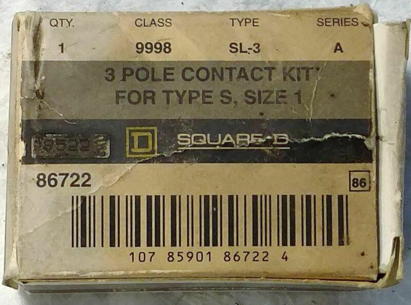 Square D 9998-SL3 Contact Kit
