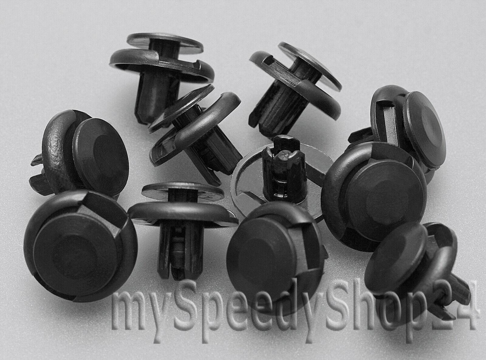 10x Stoßstangen Befestigungs Clips für Honda Lexus Toyota01553-09241
