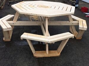 Handmade outdoor furniture  and more!!
