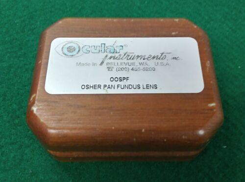 OCULAR INSTRUMENTS OSHER PAN FUNDUS LENS