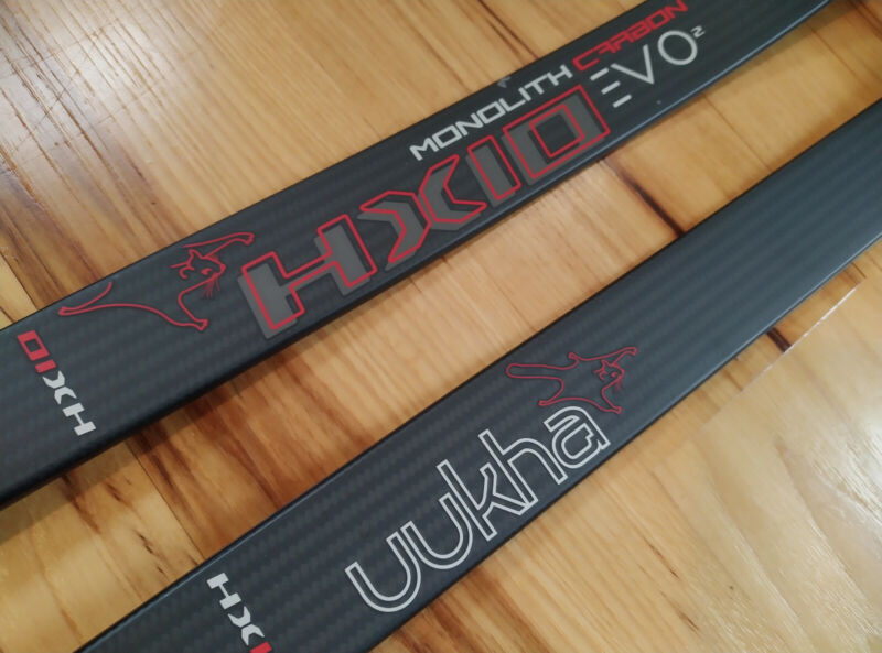 Uukha HX10 Evo2 Recurve Limbs, Monolith Carbon ILF Medium, 34 pounds