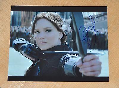 Jennifer Lawrence   Original Signed   Autographed 8X10 Photo W Coa Hunger Games