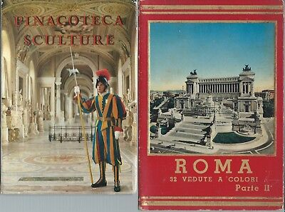 Rome and Pinacoteca (Vatican) fold out card images.
