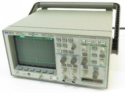 Hp Agilent 54645d 100 Mhz 2-6 Channels Mixed Signal Oscilloscope W 54650a