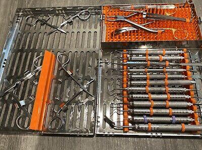 Restorative Dental Cassette And Instruments Hu-friedy Crown And Bridge