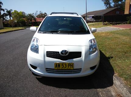 2008 Toyota Yaris YR 11 Month Rego Low Kilometers Hatchback Campbelltown Campbelltown Area Preview