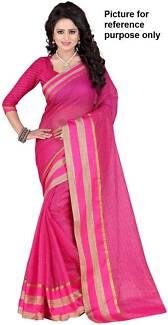Cotton Silk Fancy Saree #CS321 / Sari / Salwar Kameez / Bollywood
