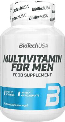 BIOTECH USA MULTIVITAMIN FOR MEN - 60TABLETS MULTIVITAMIN COMPLEX BEST FORMULA