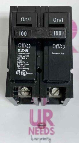 Eaton BR2100, 2 Pole, 100 Amp, Circuit Breaker Free shipping