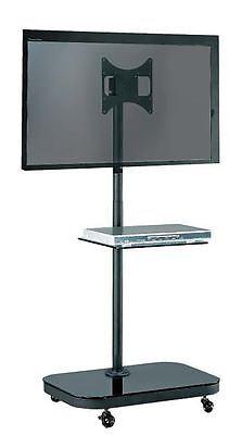 "FS940  TV Trolley Floor Stand w/ Universal Vesa Mounting Bracket for 19-37"" LCD"