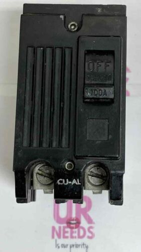 General Electric 100 Amp 2 Pole Circuit Breaker TQAL21100 GE 100A  Free shipping