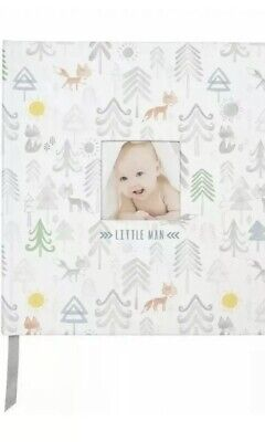 Baby Boy Memory Book Little Man C.R. Gibson Perfect-Bound Memory Keepsake -