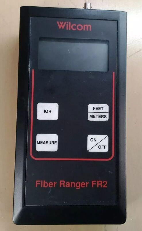 WILCOM FIBER RANGER FR2 OPTICAL FAULT LOCATOR                  2D