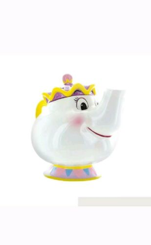 Mrs Potts Teiera Ceramica La Bella e La Bestia 24 x 17 x20 cm Idea Regalo Disney