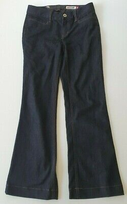 JAG JEANS Dark Navy Blue Flared Trousers/Jeans Size 8