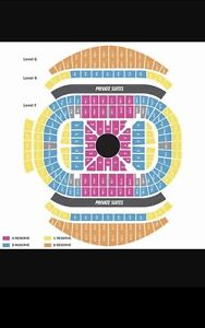 2x A RESERVE TICKETS ADELE SYDNEY SAT NIGHT ROW 6 Crows Nest North Sydney Area Preview