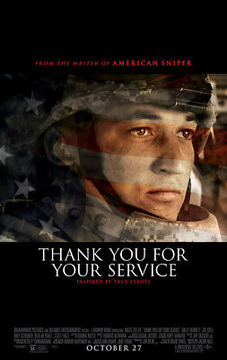 THANK YOU FOR YOUR SERVICE MOVIE POSTER DS ORIGINAL FINAL 27x40 MILES - Thank You Movie
