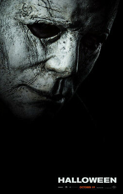 HALLOWEEN MOVIE POSTER 2 Sided ORIGINAL Advance 2018 27x40 MICHAEL MYERS - Halloween Origins Movie