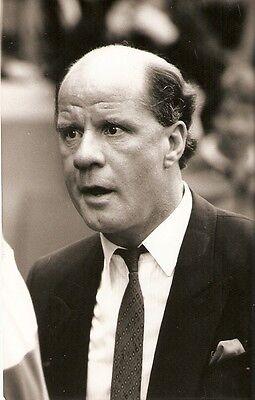 Original Press Photo Queens Park Rangers QPR Jim Smith (Manager) September 1987