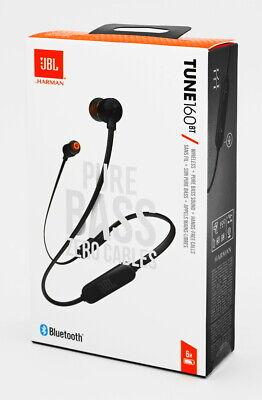 JBL Tune 160BT black  - schwarz - In-Ear Bluetooth Kopfhörer - Neu & OVP