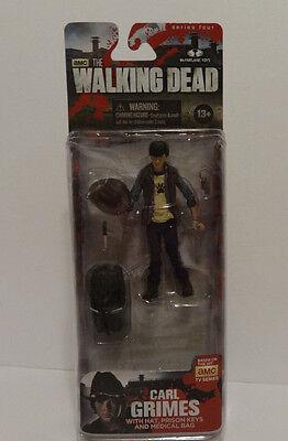Mcfarlane The Walking Dead Series 4 Carl Grimes Action Figure