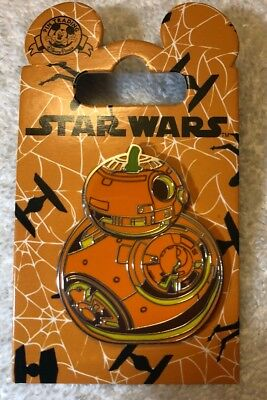 Disney Star Wars BB-8 Pumpkin Halloween Pin