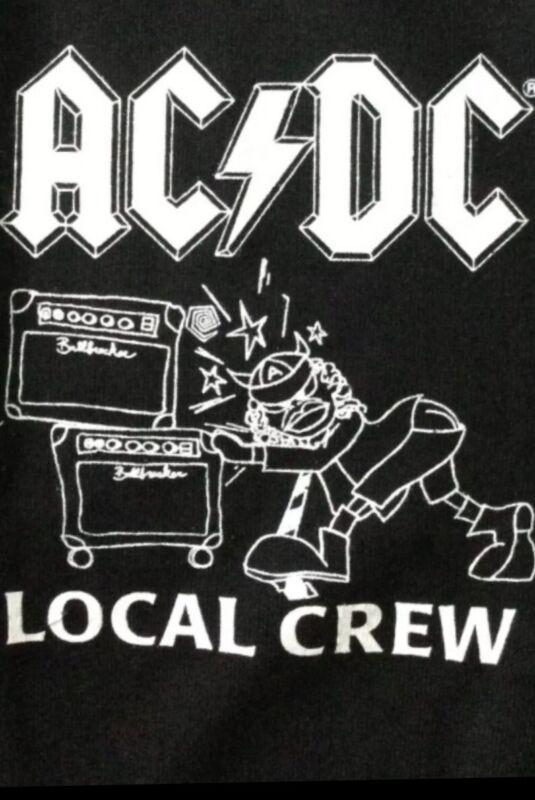 ACDC BALLBREAKER 1996 World Tour Local Crew Tshirt Mint XL vintage Brockum Tag