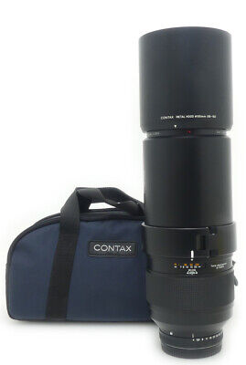 Contax 645 Carl Zeiss Tele-Apotessar 350mm F4 T hood. case.