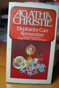 Agatha Christie Elephants Can Remember
