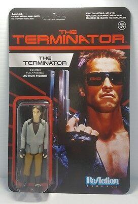 The Terminator Funko Reaction Movie Action Figure New Arnold Schwarzenegger Nice