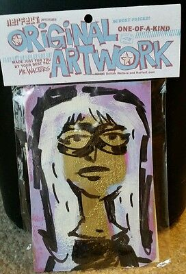 NEW collectible 2010 Nerfect Original Artwork Britton Walters-Girl with glasses