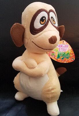 Sugar Loaf Eco Friendly Tan/Brown Lemur stuffed/plush animal - NWT - Brown Lemur