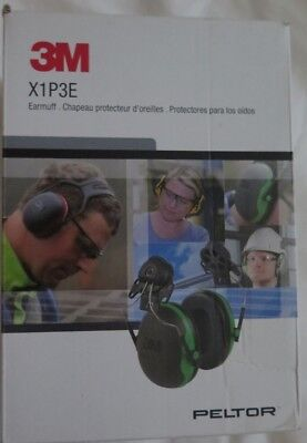 3m Peltor X-series Cap-mount Earmuffs Hearing Protection Headphones