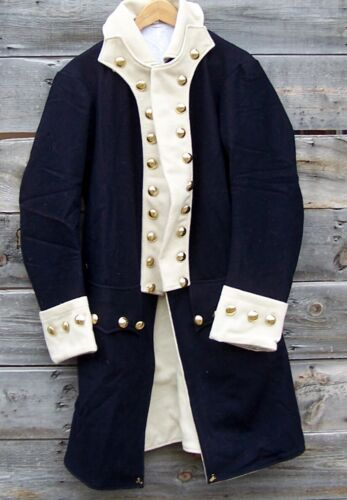 Revolutionary War Continental Army Regimental Frock Coat 46